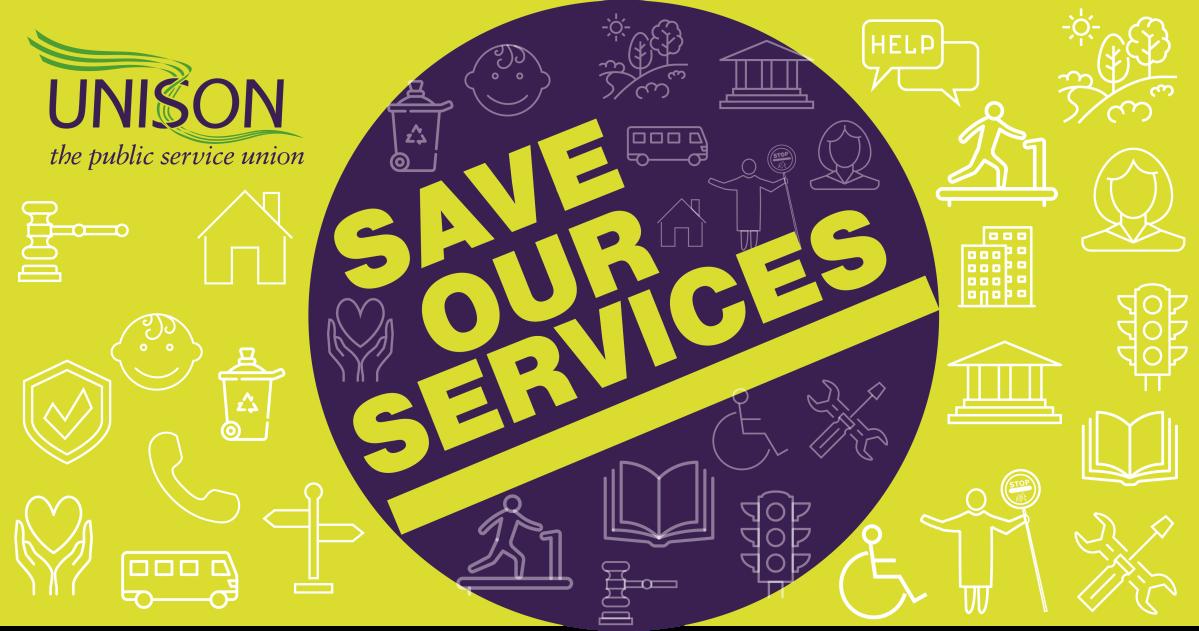 UNISON Save our Servicescampaign